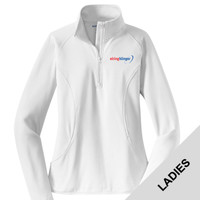LST850 - E252-S2.0-2019 - EMB - Ladies 1/2 Zip Pullover