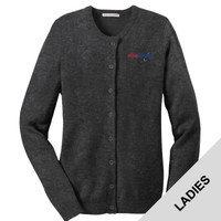 LSW304 - E252-S2.0-2019 - EMB - Ladies Cardigan Sweater