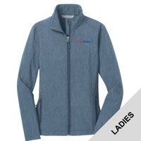 L317 - E252-S2.0-2019 - EMB - Ladies Soft Shell Jacket