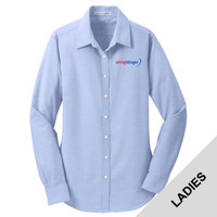L658 - E252-S2.0-2019 - EMB - Ladies Oxford Shirt