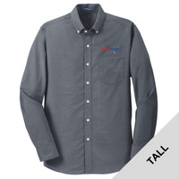 TS658 - E252-S2.0-2019 - EMB - Tall Oxford Shirt